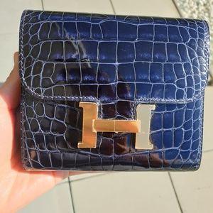 Hermes compact wallet